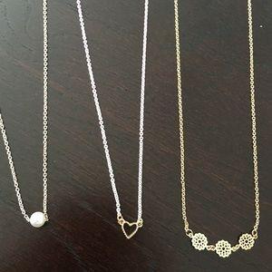 Bundle of 3 necklaces